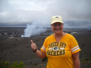 """Go Pack Go"" at the top of the world!"
