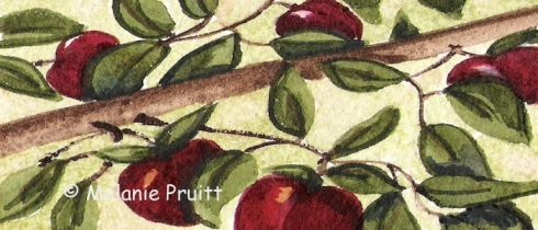 Fruit Harvest ACEO
